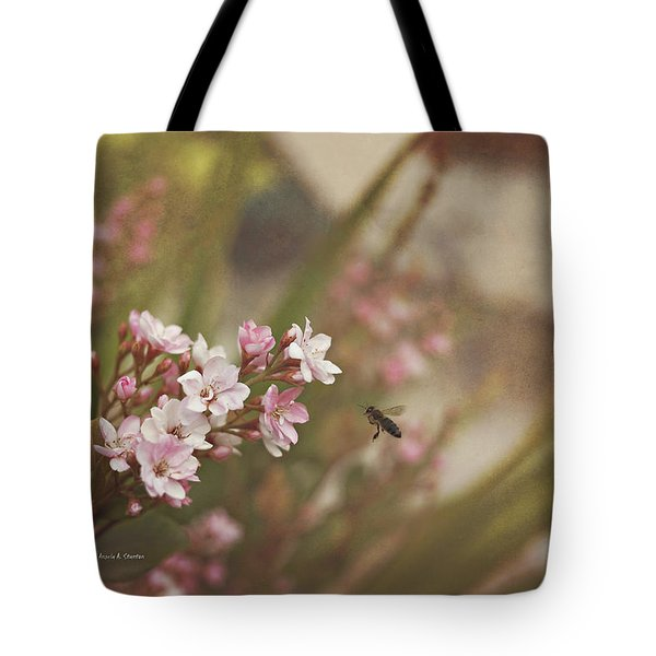 The Busy Bee Tote Bag by Angela A Stanton