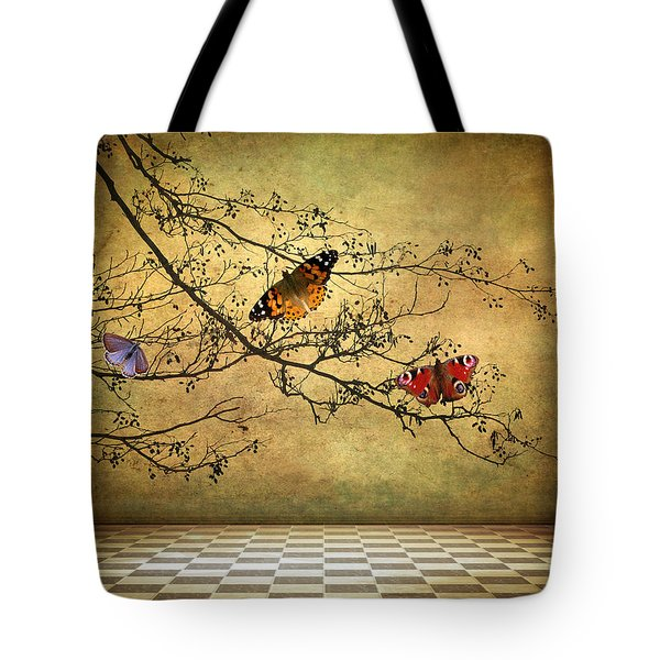 The Butterfly Room Tote Bag