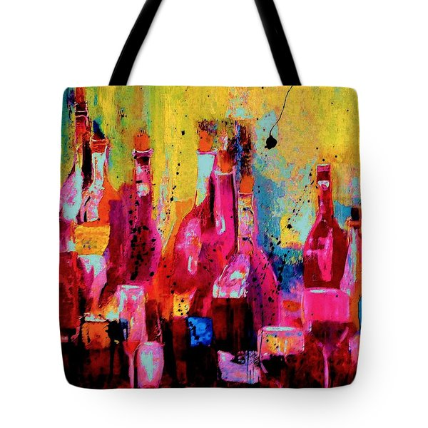 The Cabaret Tote Bag by Lisa Kaiser