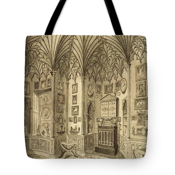 The Cabinet, Engraved By T. Morris Tote Bag by English School