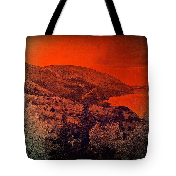The Cabot Trail Tote Bag