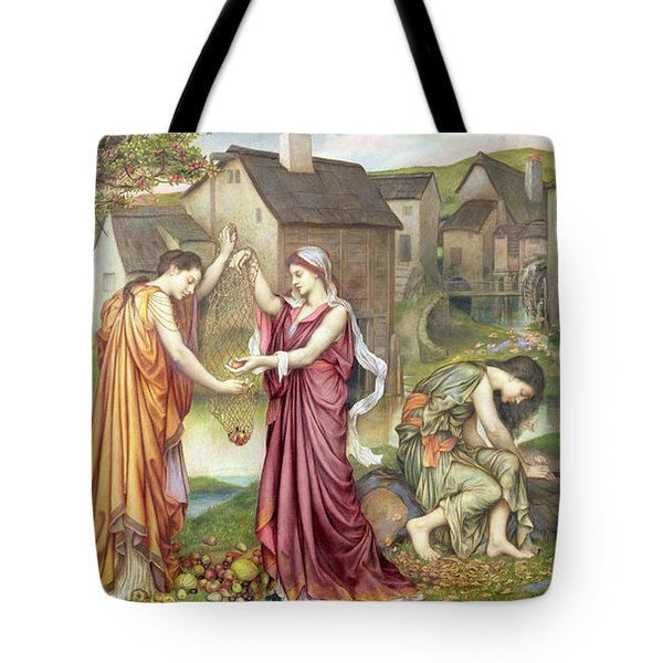 The Cadence Of Autumn Tote Bag by Evelyn De Morgan