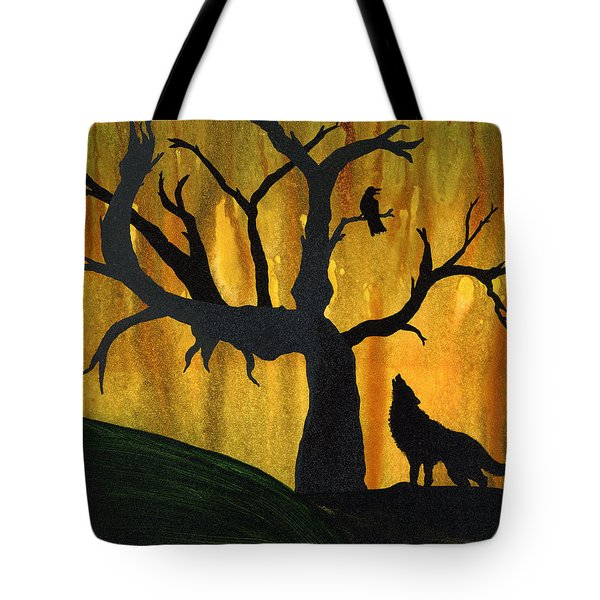 The Call And Response Of The Wild Tote Bag by Jim Stark