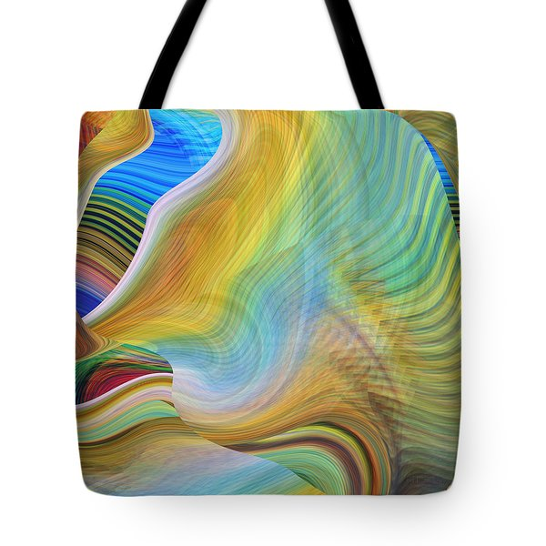The Call Of The Sea Tote Bag by rd Erickson