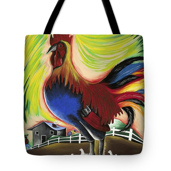The Call Of Valor Tote Bag by Patricia Sabree