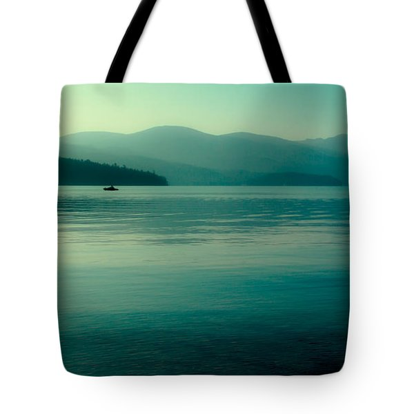 The Calmness Of Priest Lake Tote Bag by David Patterson