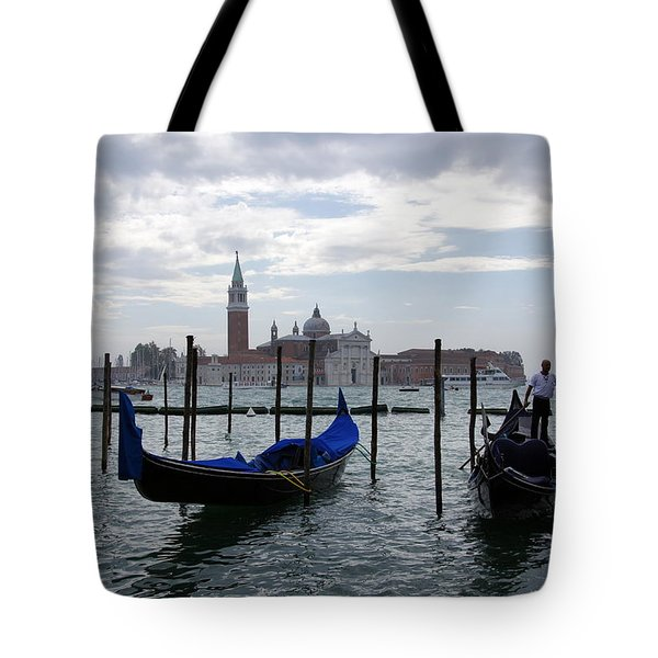 The Canal Tote Bag by Debi Demetrion
