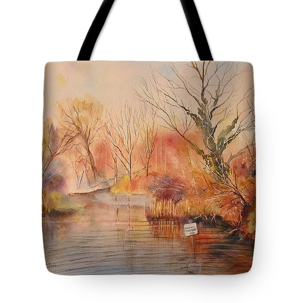 The Canal West Hythe Tote Bag