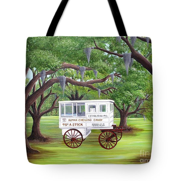 The Candy Cart Tote Bag