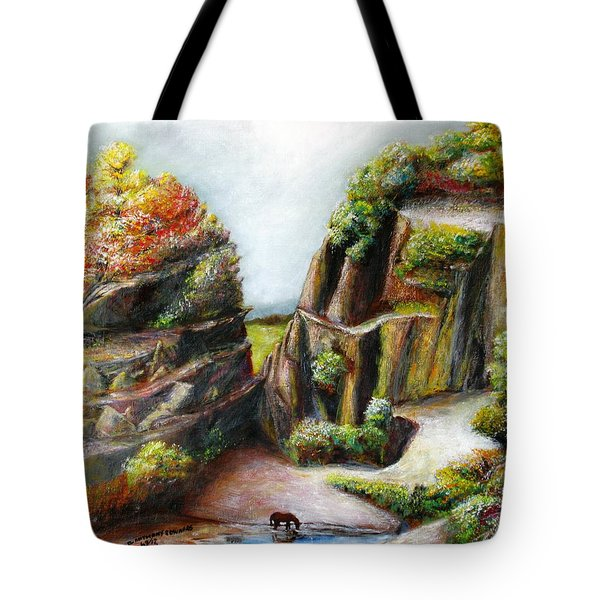 The Canyon Tote Bag