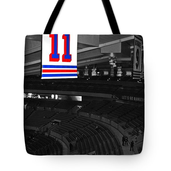 The Captain Looks Over Tote Bag