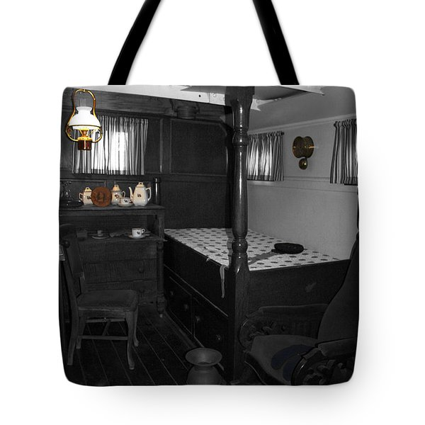 The Captains Quarters Tote Bag by Cheryl Young
