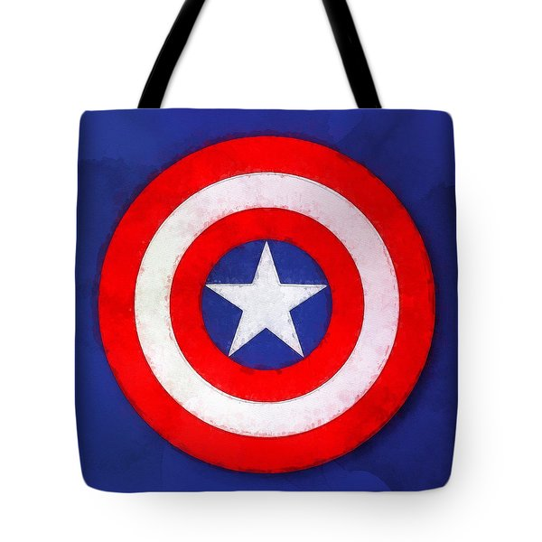 The Captain's Shield Tote Bag