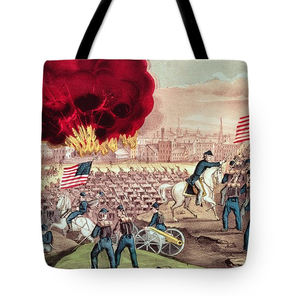 The Capture Of Atlanta By The Union Army Tote Bag
