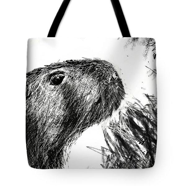 The Capybara  Tote Bag
