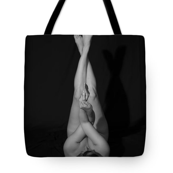 Tote Bag featuring the photograph The Caress by Mez