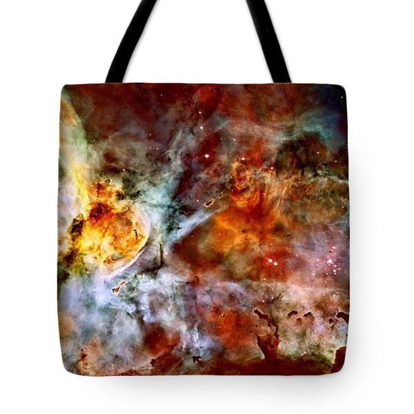 The Carina Nebula Tote Bag by Amanda Struz