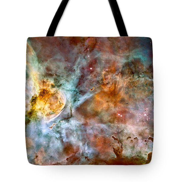 The Carina Nebula - Star Birth In The Extreme Tote Bag