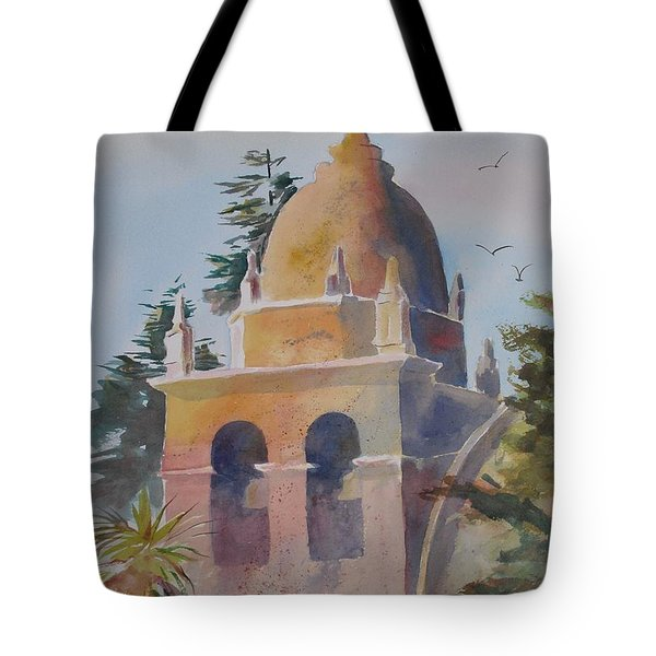 The Carmel Mission Tote Bag