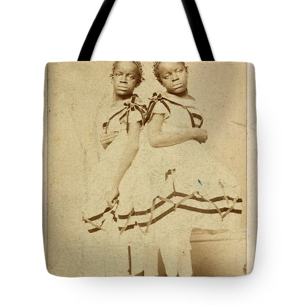 The Carolina Twins, C1866 Tote Bag