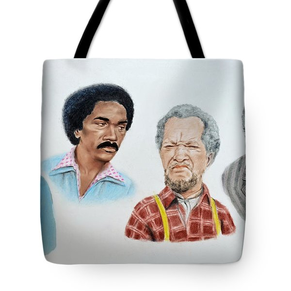 The Cast Of Sanford And Son  Tote Bag