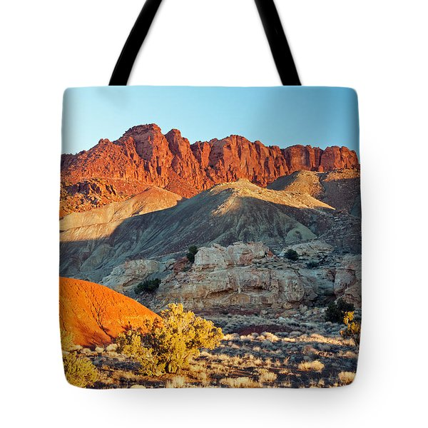 The Castle Capitol Reef National Park Tote Bag