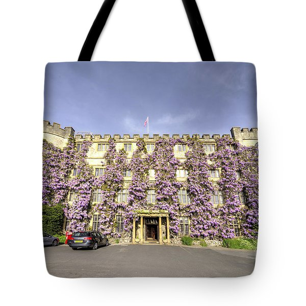 The Castle Hotel  Tote Bag by Rob Hawkins