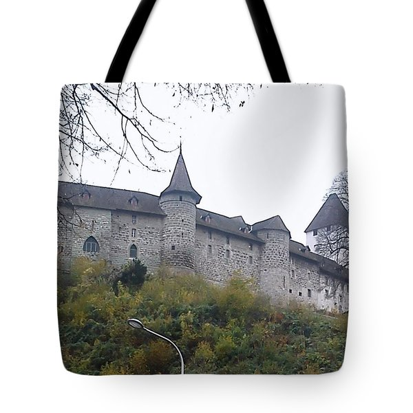 Tote Bag featuring the photograph The Castle In Autumn by Felicia Tica