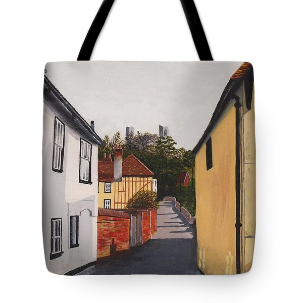 The Castle Keep Tote Bag by Shirley Miller
