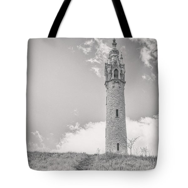 The Castle Tower Tote Bag by Scott Norris