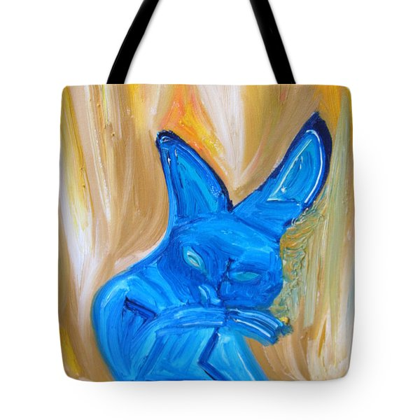 The Cat Camelion  Tote Bag