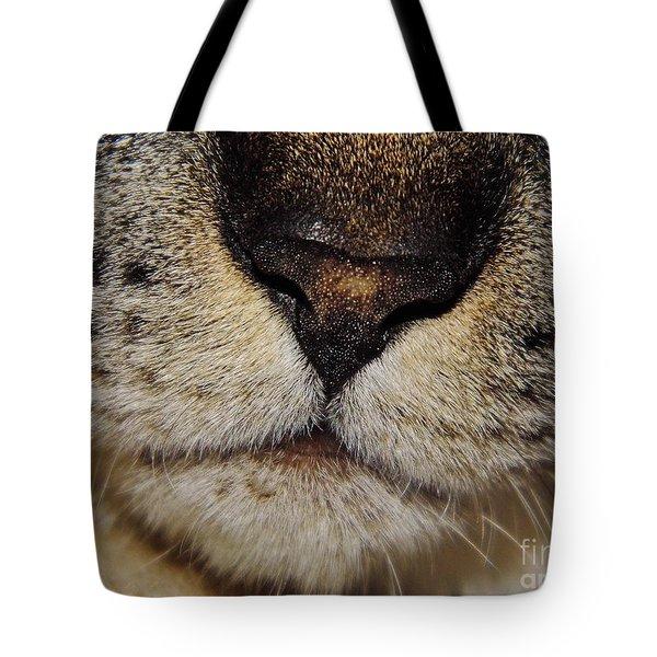 The - Cat - Nose Tote Bag