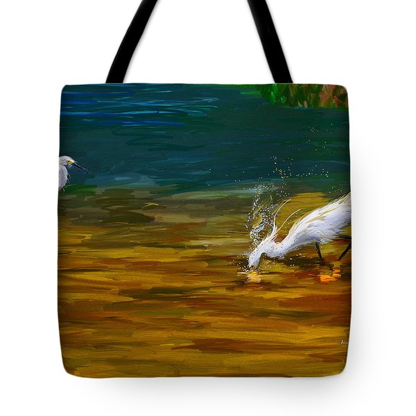 The Catch Tote Bag by Angela A Stanton