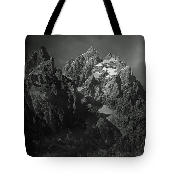 Tote Bag featuring the photograph The Cathedral Group by Raymond Salani III