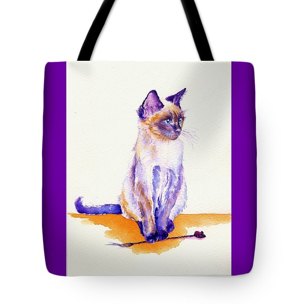 The Catmint Mouse Hunter Tote Bag