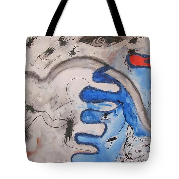 The Cat's Eye Tote Bag