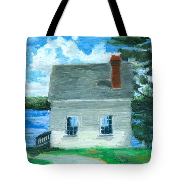 The Caulker's Shed Tote Bag by Dominic White