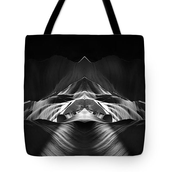 The Cave Tote Bag by Adam Romanowicz