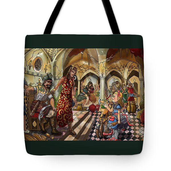 The Cave Of Ali Baba Tote Bag by Reynold Jay