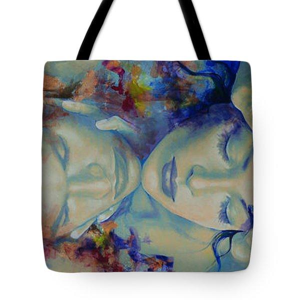 The Celestial Consonance Tote Bag by Dorina  Costras