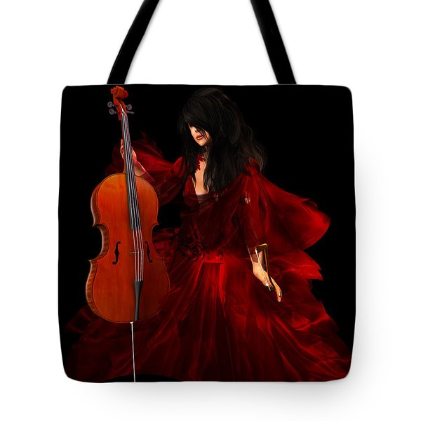 The Cellist Tote Bag