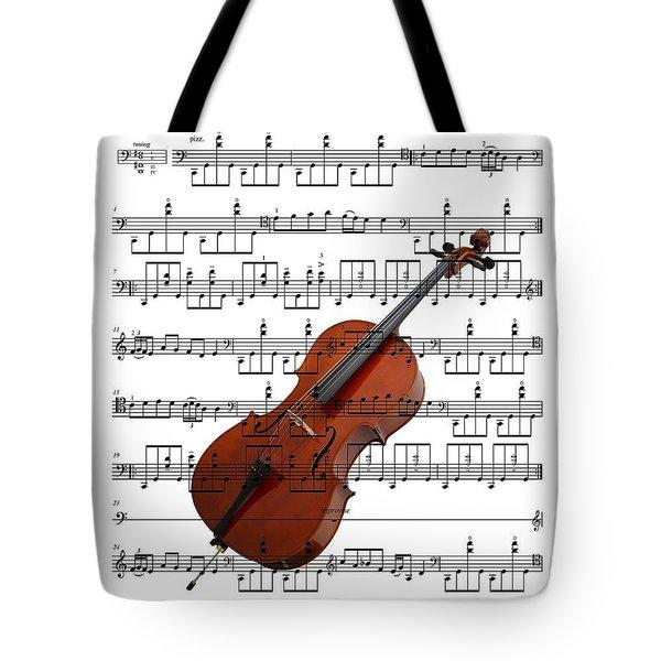 The Cello Tote Bag