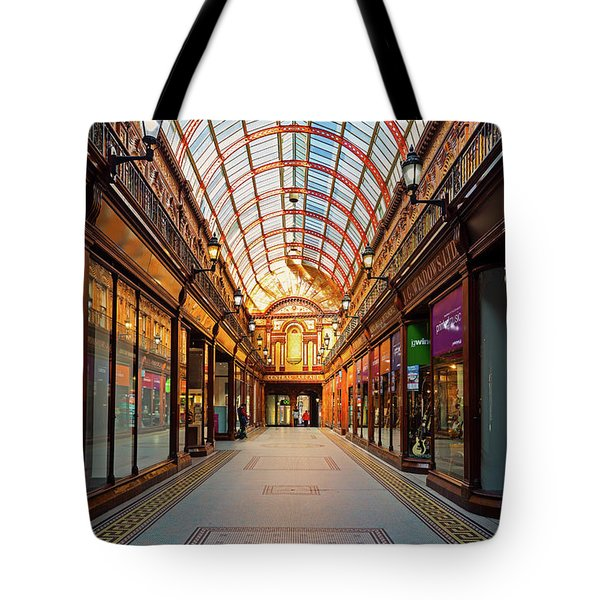 The Central Arcade Is An Elegant Tote Bag
