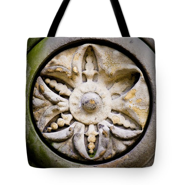 The Central Park Medallion Tote Bag by Lisa Russo