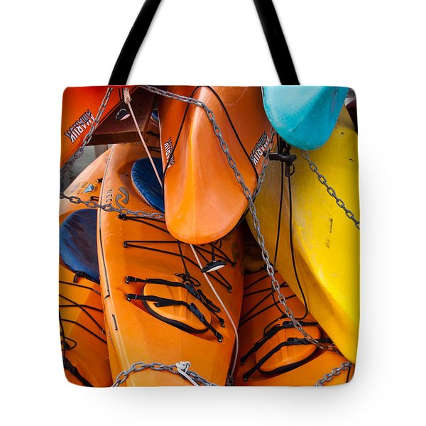The Chain Gang Tote Bag
