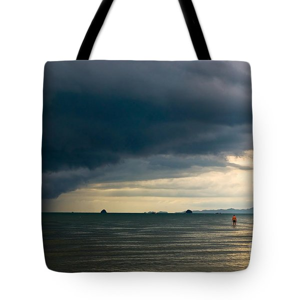 The Challenger Tote Bag by Syed Aqueel