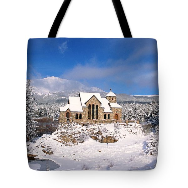 The Chapel On The Rock 3 Tote Bag