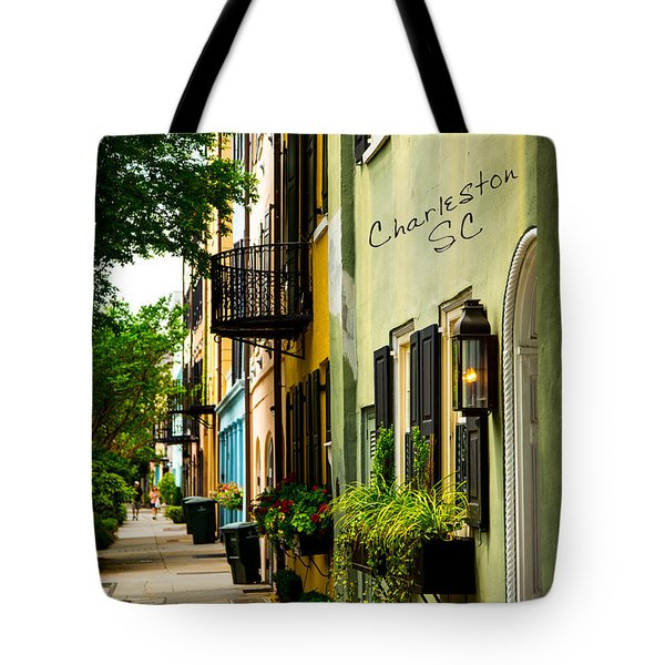 The Charm Of Charleston Tote Bag