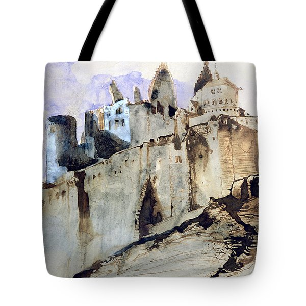 The Chateau Of Vianden Tote Bag