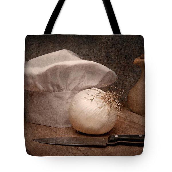 The Chef Tote Bag by Tom Mc Nemar